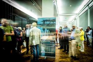 Eingang zur Ausstellung, Foto Thommy Mardo