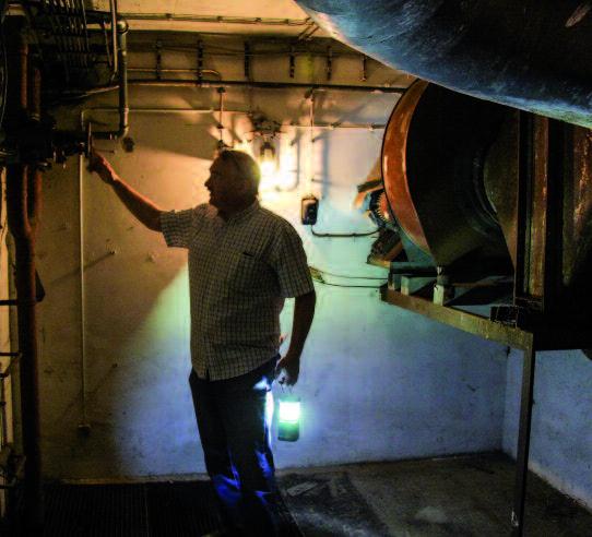 Im Bunker – Foto © Georg Seiberlich