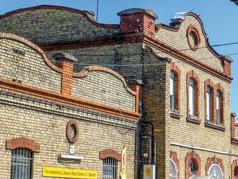 Fassade Celluloidfabrik Speyer, Foto Barbara Ritter