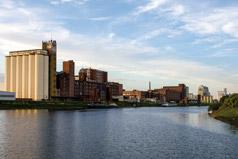 Industriehafen Mannheim, Foto Annette Schrimpf