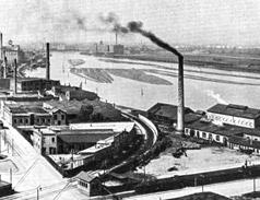 Industriehafen um 1910, Quelle Stadtarchiv Mannheim