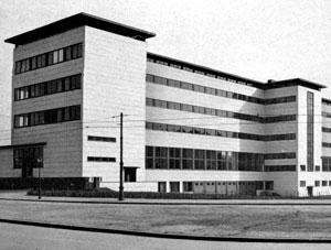 Mannheim, AOK, Südseite, Foto um 1935