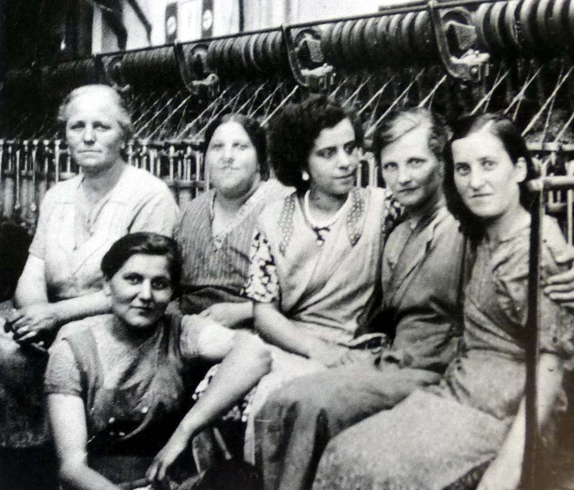 Arbeiterinnen um 1940 (foto aus Heierling)