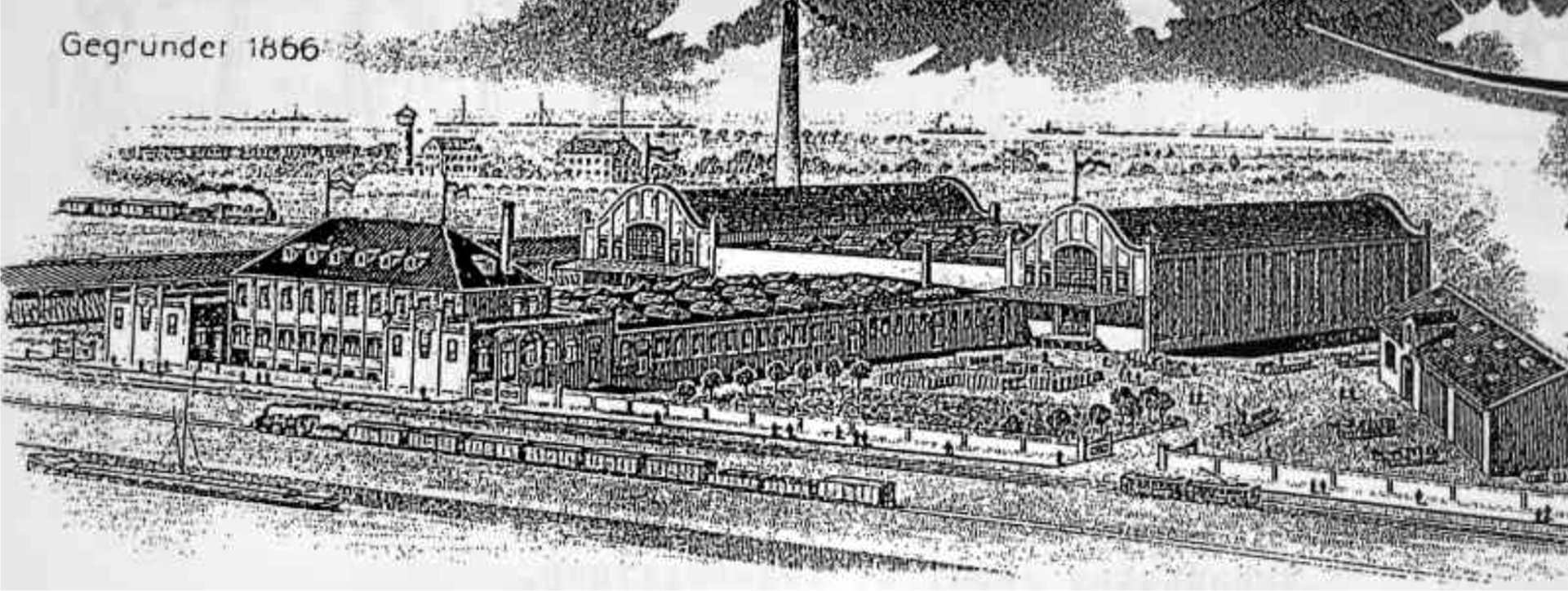 Sackfabrik Blumenstein am Industriehafen 1912