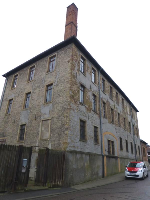 Fabrikgebäude von 1856, Foto: Ritter