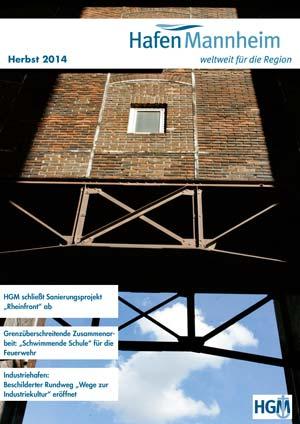 Titelbild: Hafenmagazin 3-2014