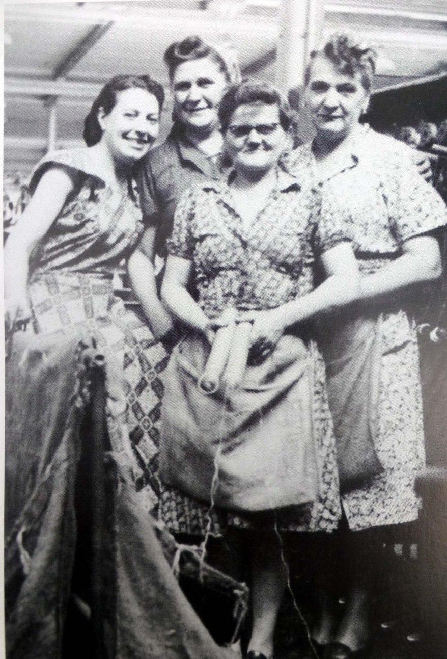 Arbeiterinnen der Kopserei (Foto aus Heierling)
