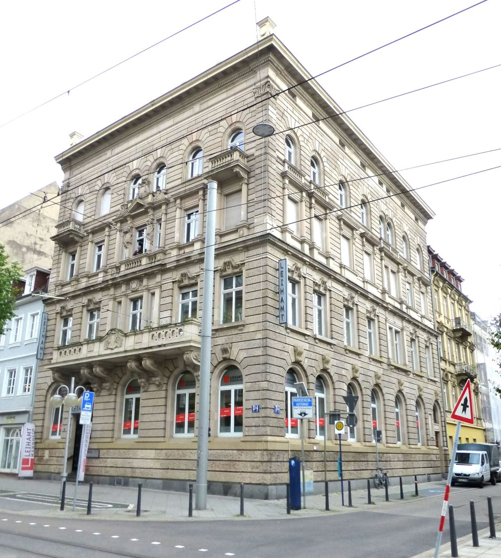Textilmagazin im Leihhaus 1937 (Foto Stadtarchiv)