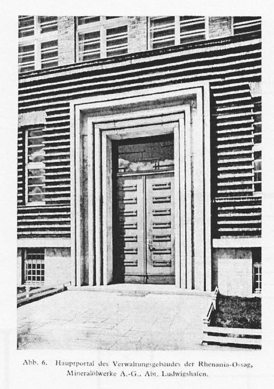 bauzeitliches Portal 1929