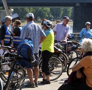 Teilnehmer Radtour