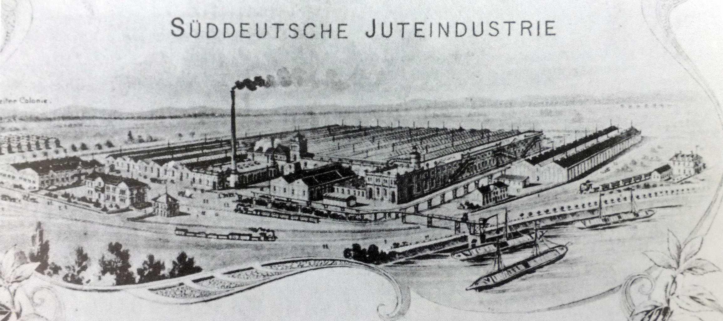 Werk um 1905 (Foto aus Heierling)