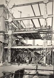 Wiederaufbau in den 1950er Jahren (Stadtarchiv Kaiserslautern)
