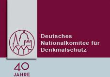 Logo Deutsches Nationalkomitee für Denkmalschutz
