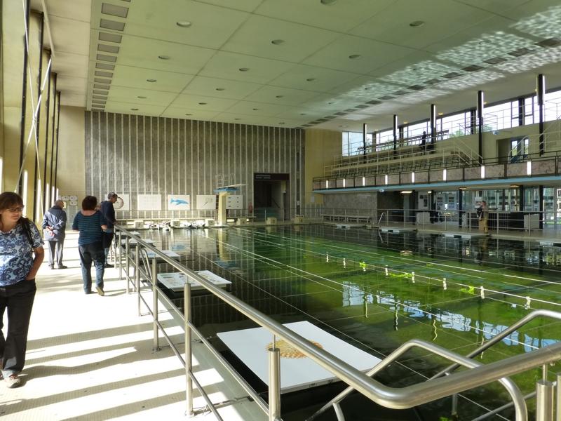 LuCation: ehem. Schwimmbecken, Löschwasserreserve mit Kunstausstellung