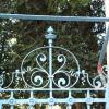 Detail vom Gartentor